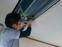 宇和島市 家庭用 天井埋め込み型エアコンクリーニング施工事例