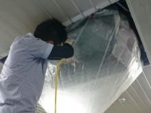 宇和島市 食品工場  天井埋め込み型エアコンクリーニング施工事例