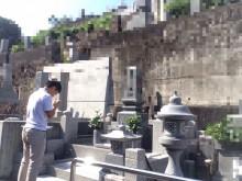 宇和島市 秋のお彼岸 お墓清掃・お参り代行施工事例