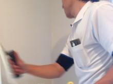 宇和島市 一般顧客 壁紙落書き(ボールペン・クレヨン)クロスメイク施工事例