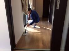 宇和島市 一般顧客 ペット向けフローリングワックス施工事例