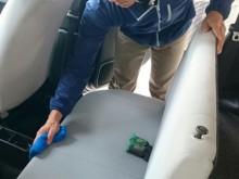 宇和島市 一般のお客様 車内シート リフレッシュクリーニング施工事例