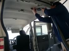 鬼北町 一般のお客様 車内 たばこヤニ汚れ・飲料のシミ リフレッシュクリーニング施工事例