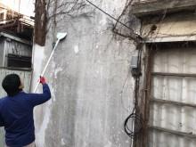 宇和島市 一般のお客様 空き家 建物外壁 除草サービス施工事例