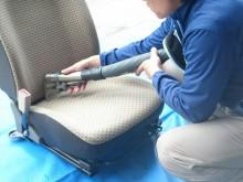 八幡浜市 福祉施設 福祉車両シート(便・尿) 脱臭・高温水丸洗いクリーニング