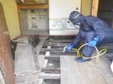 宇和島市 既存木造住宅販売向け  シロアリ駆除・予防施工事例