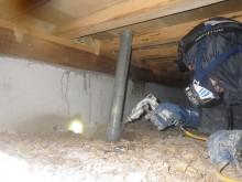 宇和島市 一般のお客様 リフォーム工事  シロアリ駆除・予防施工事例