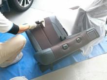 宇和島市 一般のお客様 車内の嘔吐  シートクリーニング&脱臭・除菌施工事例