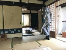 宇和島市 一般のお客様 親の実家 遺品整理業者  お片付け 簡易清掃施工事例