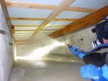 宇和島市 一般のお客様 床下排水漏水 汚水回収・清掃・消毒施工事例