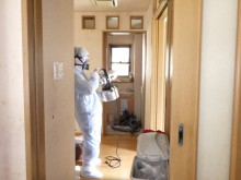 宇和島市 一般のお客様 室内ペット臭 脱臭除菌 クリーニング施工事例