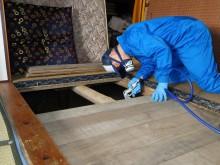 宇和島市 一般のお客様 空家 親の家 シロアリ駆除・予防施工事例