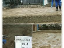 宇和島市 工務店 新築工事  シロアリ土壌予防処理施工事例
