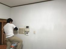 宇和島市 一般のお客様 原状回復 クロスメイク エアコンクリーニング 床ワックス施工事例