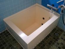宇和島市 一般のお客様 バスリペア 浴槽ひび割れ補修 浴槽土台補強工事・カラーコーティング施工事例