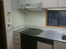 宇和島市 一般のお客様 キッチン レンジフードクリーニング クロスメイク 同時施工事例
