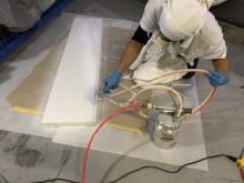 宇和島市 一般のお客様 浴室リフォーム・バスリペア 転倒防止床材 バスフロア施工事例